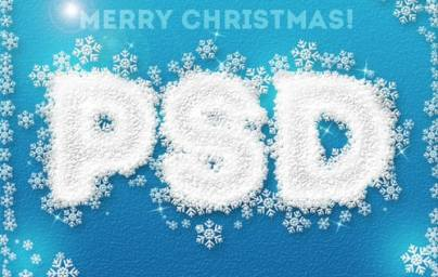14 Christmas Inspired Photoshop Tutorials | Web Design and