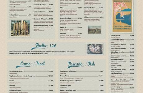 Fresh Restaurant Menu -