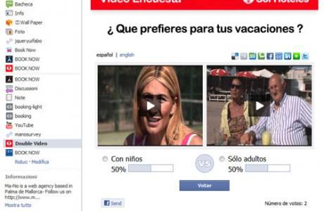 fb double video -