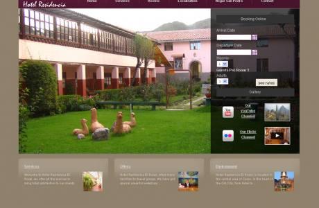 hotel residencia el rosal -