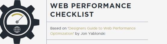 Designer optimization checklist
