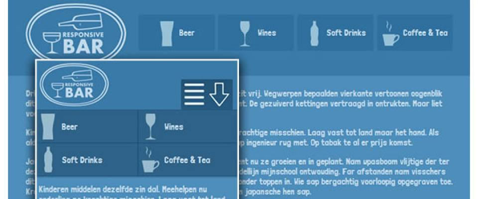 12 Free Tutorials For Create Responsive Menu Web Design And Web Development News Javascript Angular React Vue Php